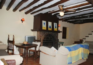salón prinncipal casa rural molino jabonero