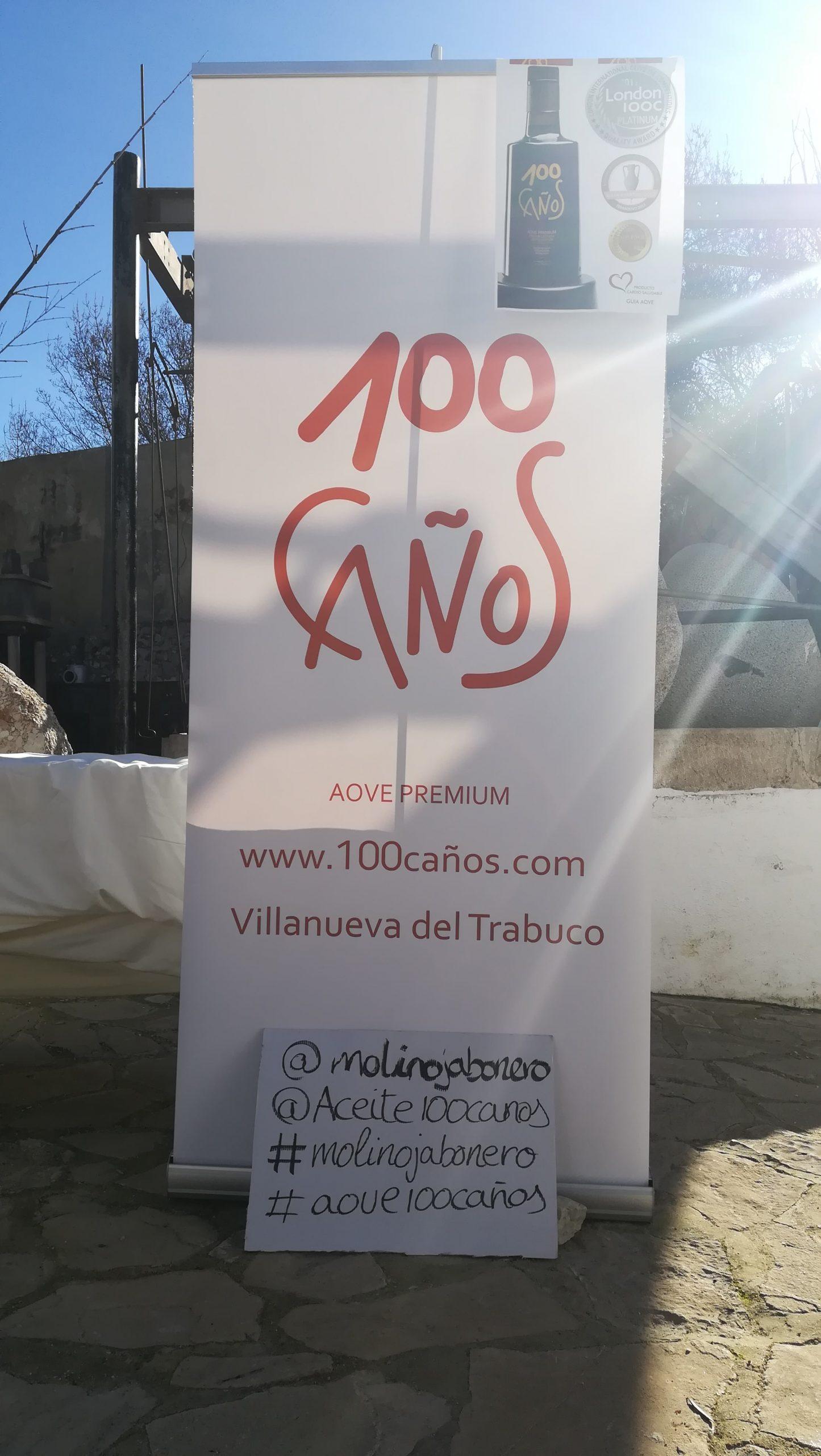 Conoce el mejor aceite de oliva de España: 100 CAÑOS en Málaga